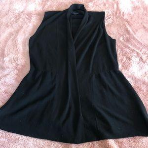 Lafayette 148 sz L gorgeous vest cardigan